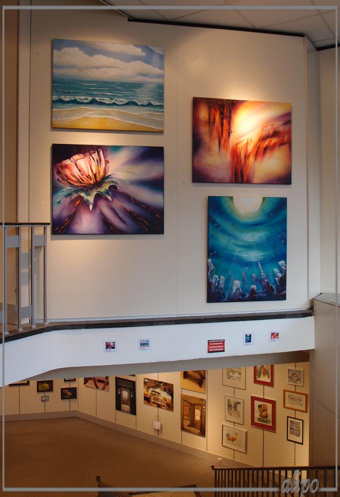 Expositie Amateurkunstenaars Olympus XZ1