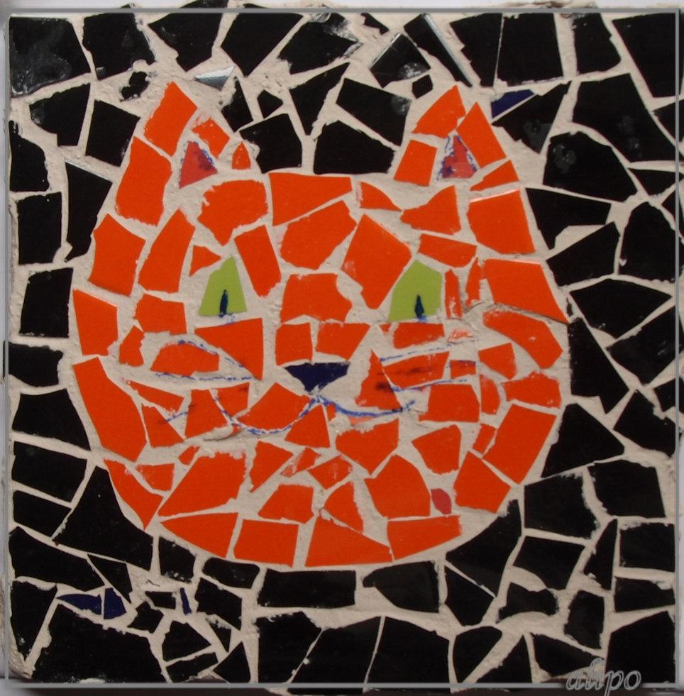 Mozaiek poes