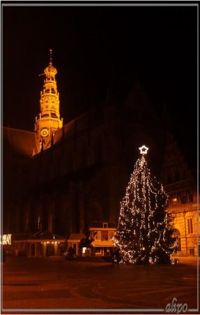 Kerstboom Grote Markt Olympus XZ!